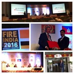 TELESTO na FireIndia 2016 Chennai